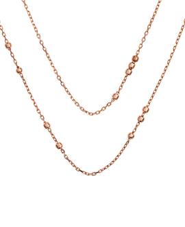 SIMPLICITY|Halskette Rosé