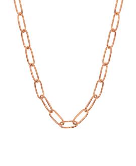 CHAIN LINK|Halskette Rosé