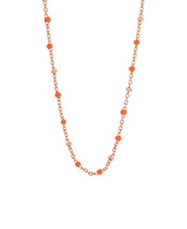 EMAILLE COLORS  Halskette Orange