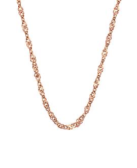 Halskette Rosé