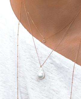 PALA Halskette  10K Roségold