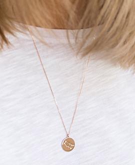 ZWILLINGE Halskette Roségold