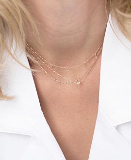 Halskette 10K Roségold