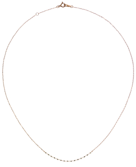 Halskette|10K Roségold