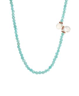 SAUTOIR|Halskette Amazonit