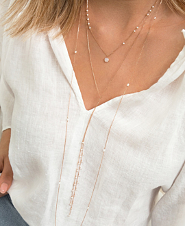 ESSENTIAL Halskette Perle