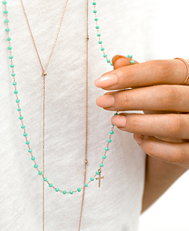 DEDICATION NECKLACE TURQUOISE