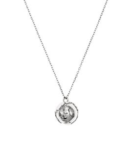 GLOBE|Halskette Silber