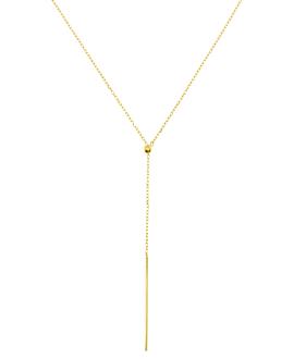 Y Halskette|10K Gold
