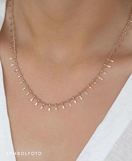 CLEO  Halskette Gold
