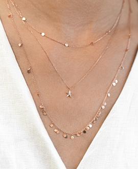 STARFISH  Halskette Rosé