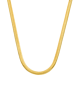 SNAKE CHAIN|Halskette Gold