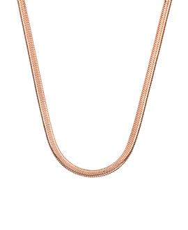 SNAKE CHAIN|Halskette Rosé