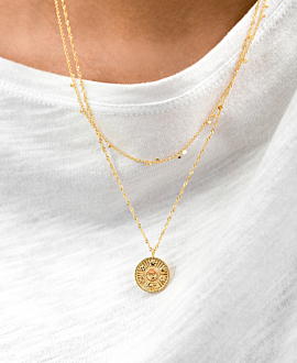 GYPSY  Halskette Gold
