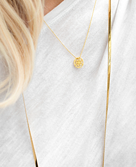 SNAKE CHAIN  Halskette Gold