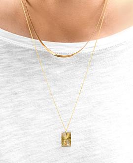 RADIANCE  Halskette Gold