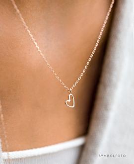 TRUE LOVE Halskette Gold