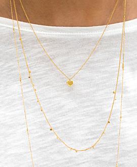 MI AMORE  Halskette Gold