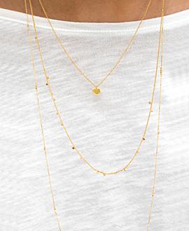 SAUTOIR CHARMS  Halskette Gold