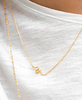 VIPER  Halskette Gold