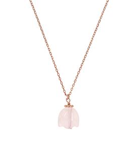LOTUS Halskette Rosé