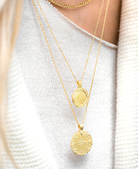 DAPHNE  Halskette Gold