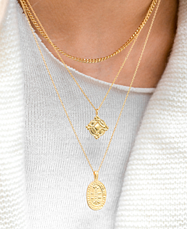 INES NECKLACE GOLD