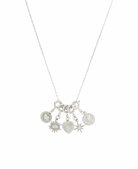 ASTROLOGY CHARMS|Halskette Silber