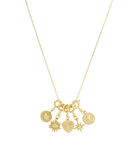 ASTROLOGY CHARMS|Halskette Gold