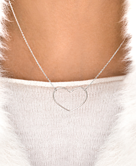 TI AMO  Halskette Silber