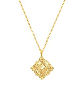 INES|Halskette Gold