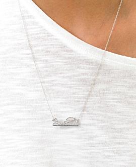 SAVANNE Halskette Silber