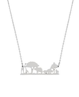 SAVANNE|Halskette Silber