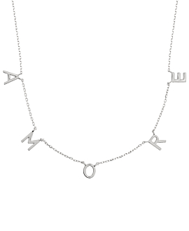 A.M.O.R.E.  Halskette Silber
