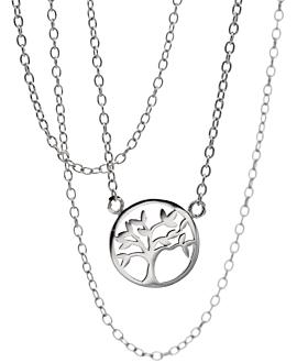 TREE OF LIFE  Halskette Siber