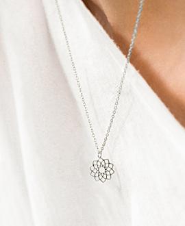 SAHASRARA Halskette Silber