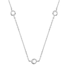 DREAMY GEM Halskette Silber