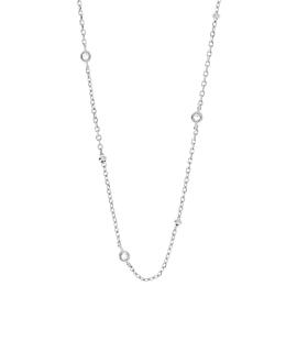TOPAZ BEADS  Halskette Silber