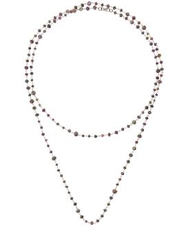 EDELSTEIN Halskette Sterling Silber