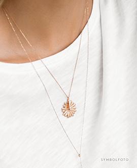 DAISY Halskette Silber