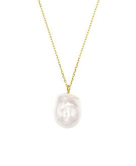 PERLA|Halskette Gold