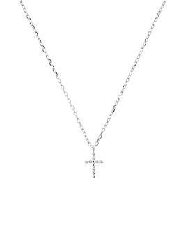 CROSS  Halskette Silber