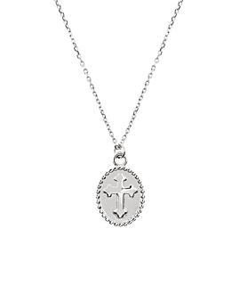 CHARMING CROSS Halskette Silber