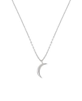 CRESCENT MOON Halskette Sterling Silber