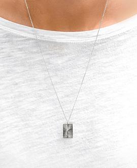RADIANCE Halskette Silber