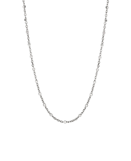 ESSENTIAL  NECKLACE SILVER