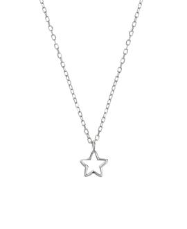 WISHING STAR|Halskette Silber
