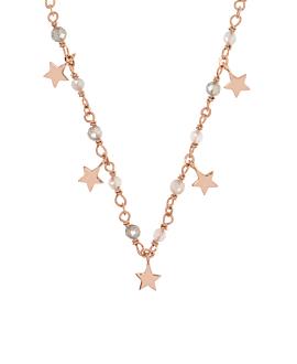 STAR CHARM  Halskette Rosé