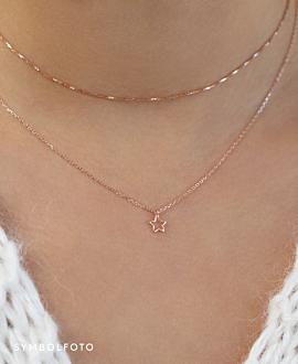 WISHING STAR  Halskette Silber