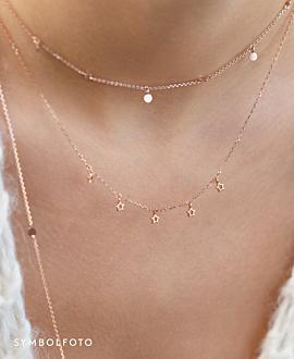 TWINKLE SPARK  Halskette Silber